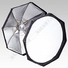 Softbox Beauty Dish 2w1 - 80cm z dyfuzorem